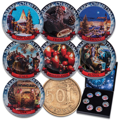 Image for Christmas Traditions Collection from Littleton Coin Company