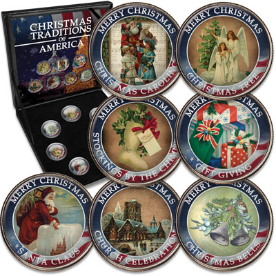 Image for American Christmas Traditions Collection from Littleton Coin Company