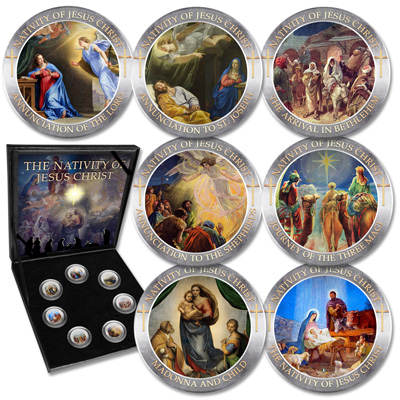 Image for Nativity of Jesus Christ Set from Littleton Coin Company