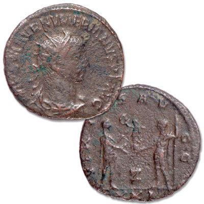 Image for A.D. 283-284 Numerian Bronze Antoninianus from Littleton Coin Company