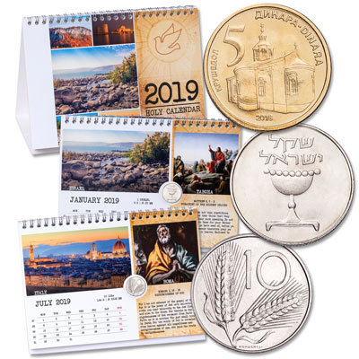 Image for 2019 Holy Calendar from Littleton Coin Company