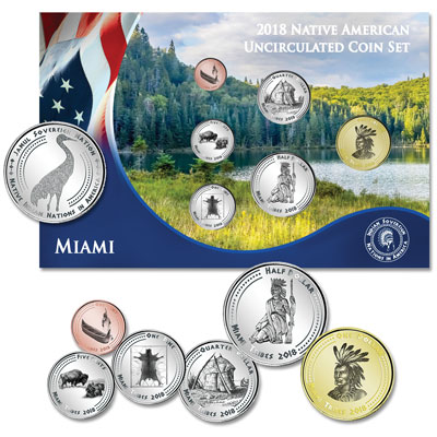 Image for 2018 Jamul Indian Coin Set - Native Miami from Littleton Coin Company