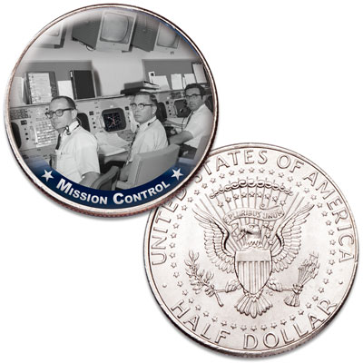 Image for America's Race to Space - Mission Control from Littleton Coin Company