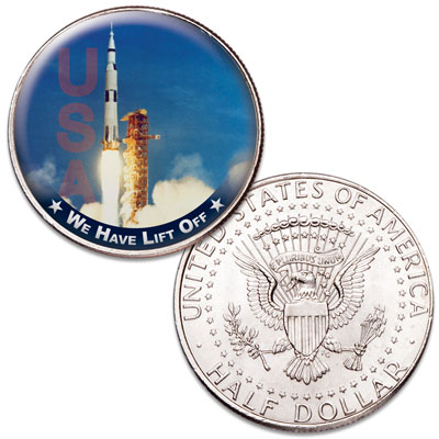 Image for America's Race to Space - Lift Off from Littleton Coin Company