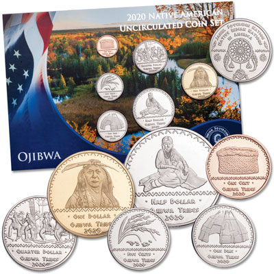 Image for 2020 Jamul Indian Coin Set - Ojibwa from Littleton Coin Company