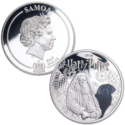 Image for 2020 Samoa Wizarding World Half Dollar - Rubeus Hagrid from Littleton Coin Company
