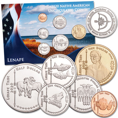 Image for 2020 Jamul Indian Coin Set - Lenape from Littleton Coin Company