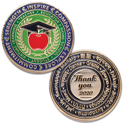Image for Educator Challenge Coin from Littleton Coin Company