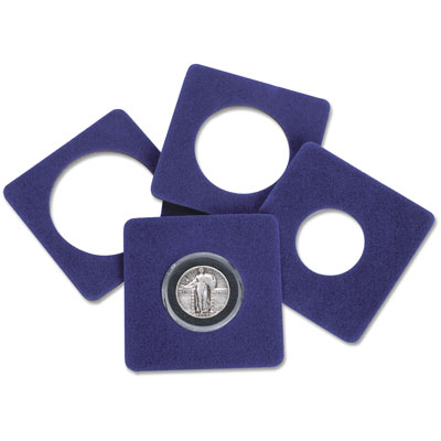 Image for Package of 5 Air-Tite Display Cards, 20-25mm from Littleton Coin Company