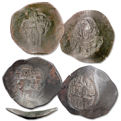 Image for 1185-1203 Isaac II & Alexius III Billon Scyphate Set from Littleton Coin Company