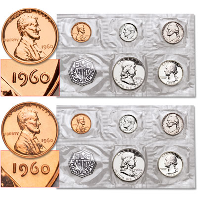 Image for 1960 Small & Large Date Proof Sets from Littleton Coin Company