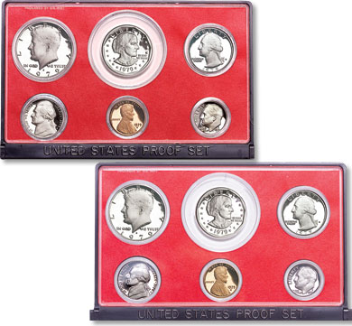 Image for 1979-S Type 1 & Type 2 Proof Sets (12 coins) from Littleton Coin Company