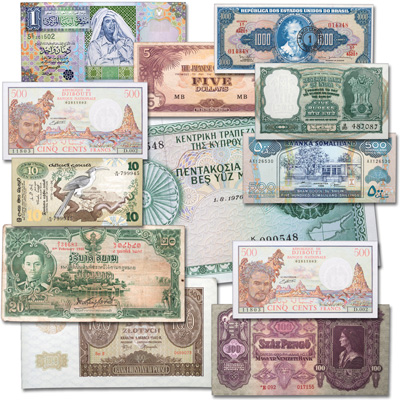 Image for World Bank Note Set from Littleton Coin Company