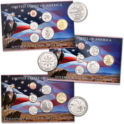 Image for 2013-2014 Native American Tribal Coin Sets from Littleton Coin Company