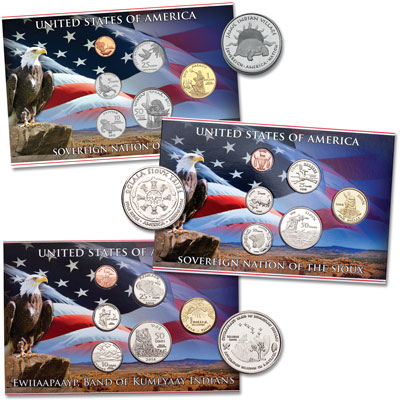 Image for 2014-2015 Native American Tribal Coin Sets from Littleton Coin Company