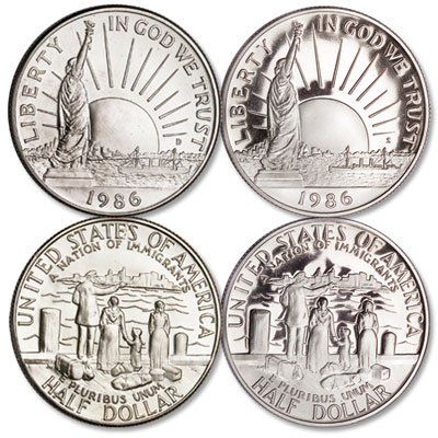 Image for 1986 D&S Statue of Liberty Half Dollar Commemoratives from Littleton Coin Company