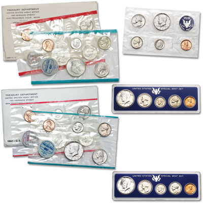Image for 1963-1967 U.S. Mint Set Collection from Littleton Coin Company