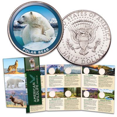 Image for American Wildlife Series III Custom Folder and First Coin from Littleton Coin Company