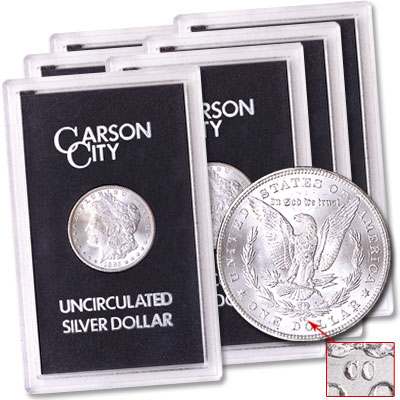 "Image for 1880-1885 ""CC"" Morgan Dollar Set from Littleton Coin Company"