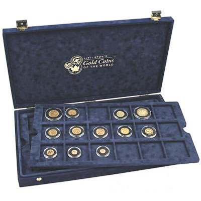 Image for World Gold Coin Presentation Case from Littleton Coin Company