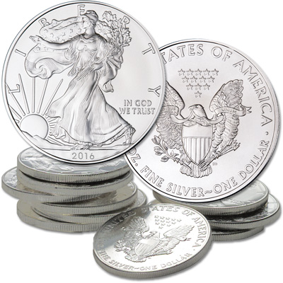 Image for 2016 Ten $1 Silver American Eagle from Littleton Coin Company