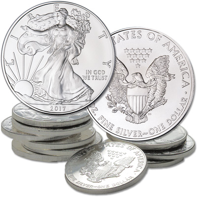 Image for 2017 Ten $1 Silver American Eagles from Littleton Coin Company