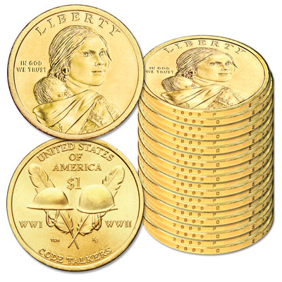 Image for 2016 Ten P&D Native American Dollar Sets from Littleton Coin Company