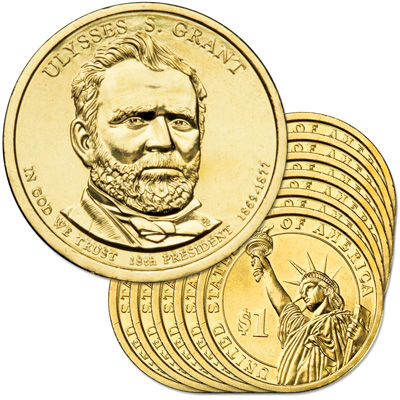 Image for 2011-D Ten Ulysses S. Grant Presidential Dollar from Littleton Coin Company