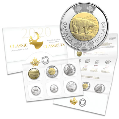 Image for 2020 Canada Uncirculated Set from Littleton Coin Company