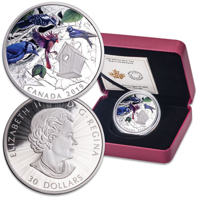 Image for 2019 Canada 2 oz. Silver $30 Birds from Littleton Coin Company
