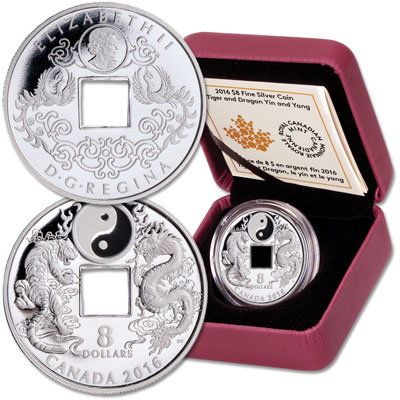 Image for 2016 Canada Silver $8 Dragon from Littleton Coin Company