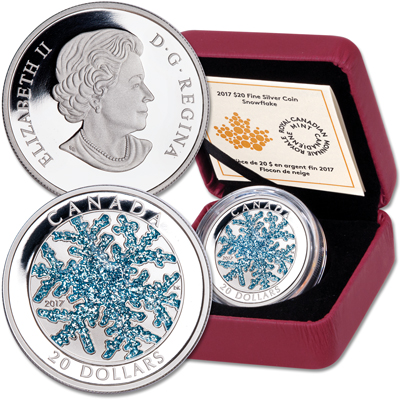 Image for 2017 Canada Silver $20 Snowflake from Littleton Coin Company