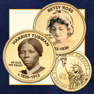 Image for Prominent Women in U.S. History - Presidential Dollar Series Subscription Program from Littleton Coin Company