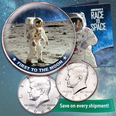 Image for America's Race to Space Subscription Program from Littleton Coin Company