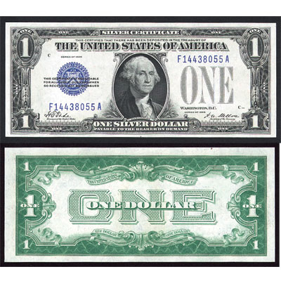 Image for 1928 $1 Silver Certificate,