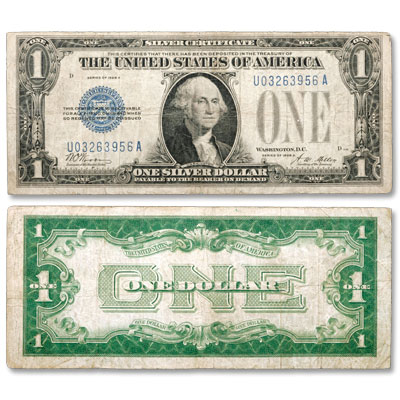 Image for 1928A $1 Silver Certificate,