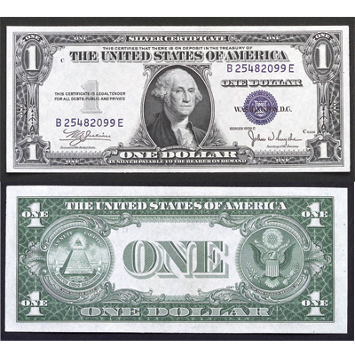 Image for 1935C $1 Silver Certificate from Littleton Coin Company