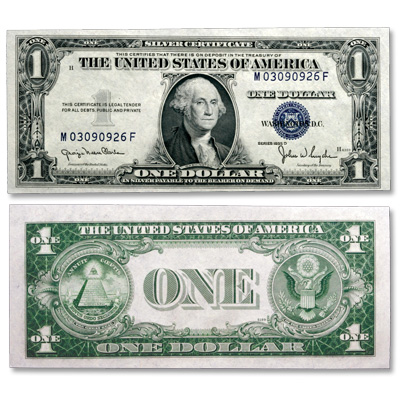 Image for 1935D $1 Silver Certificate, Narrow Design from Littleton Coin Company
