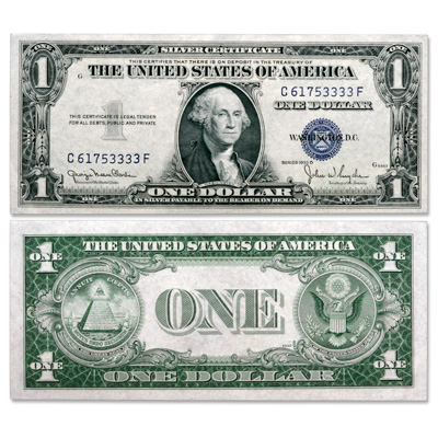 Image for 1935D $1 Silver Certificate, Wide Design from Littleton Coin Company