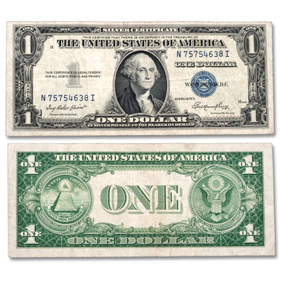 Image for 1935E $1 Silver Certificate from Littleton Coin Company