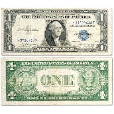 Image for 1935E $1 Silver Certificate, Star Note from Littleton Coin Company