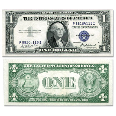 Image for 1935F $1 Silver Certificate from Littleton Coin Company