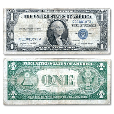 Image for 1935G $1 Silver Certificate from Littleton Coin Company