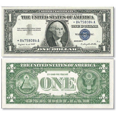 Image for 1957A $1 Silver Certificate, Star Note from Littleton Coin Company