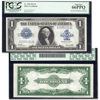Image for 1923 $1 Silver Certificate from Littleton Coin Company