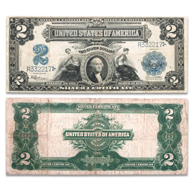 Image for 1899 $2 Large-Size Silver Certificate from Littleton Coin Company