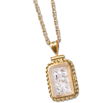 Image for Herkimer Diamonds Necklace from Littleton Coin Company