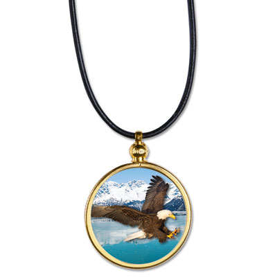 Image for Bald Eagle Pendant from Littleton Coin Company