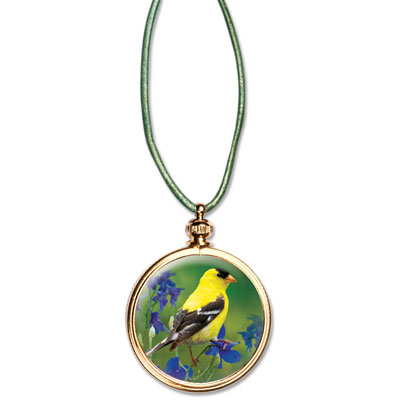 Image for Goldfinch Pendant from Littleton Coin Company