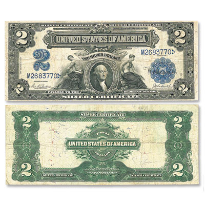 Image for Series 1899 $2 Silver Certificate from Littleton Coin Company